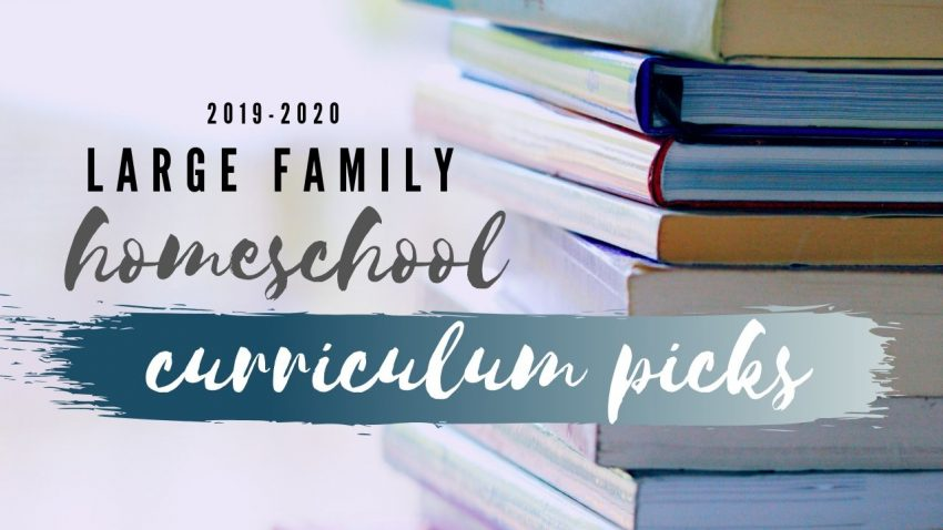 homeschool curriculum, large family, afarmhousefull,